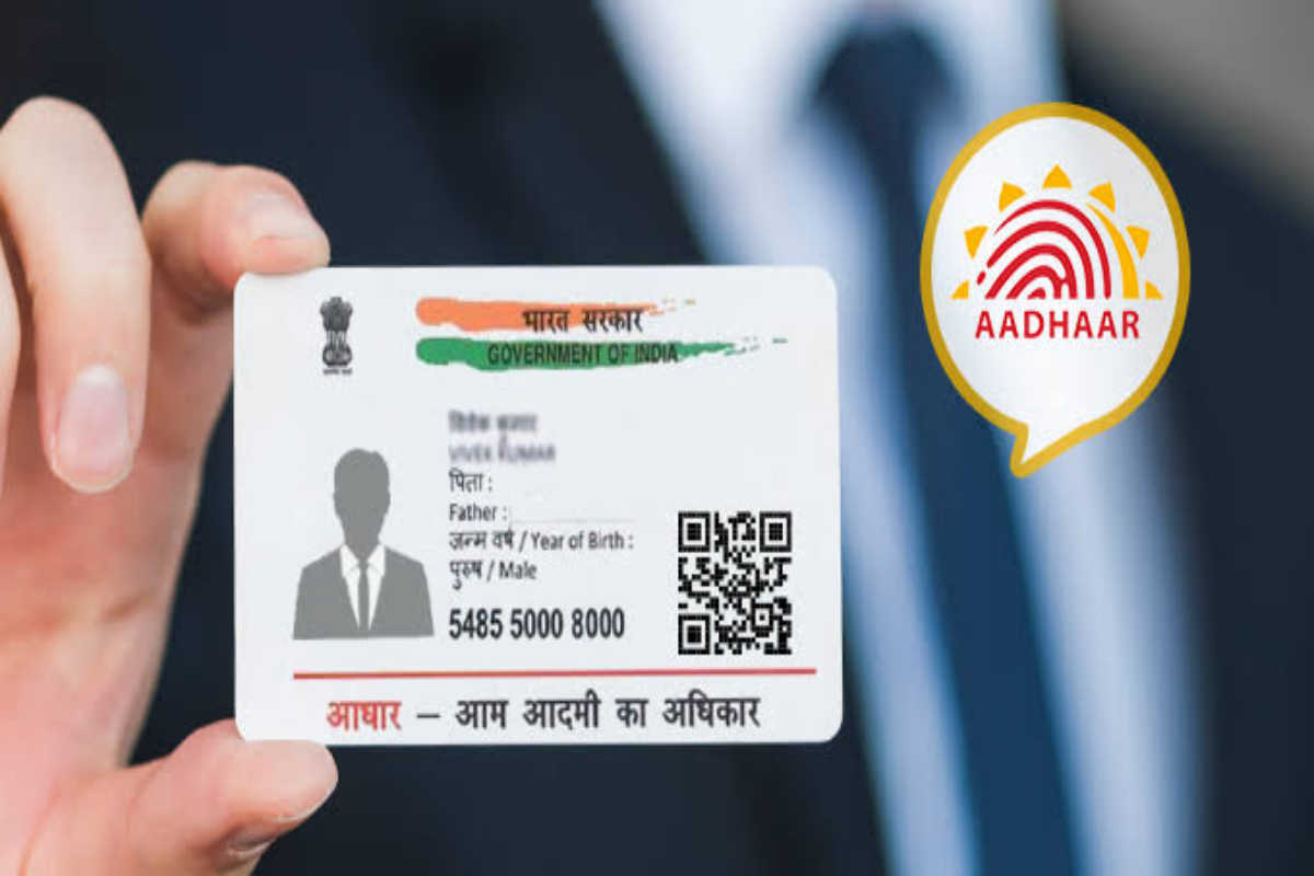Driving licence link with Aadhar card